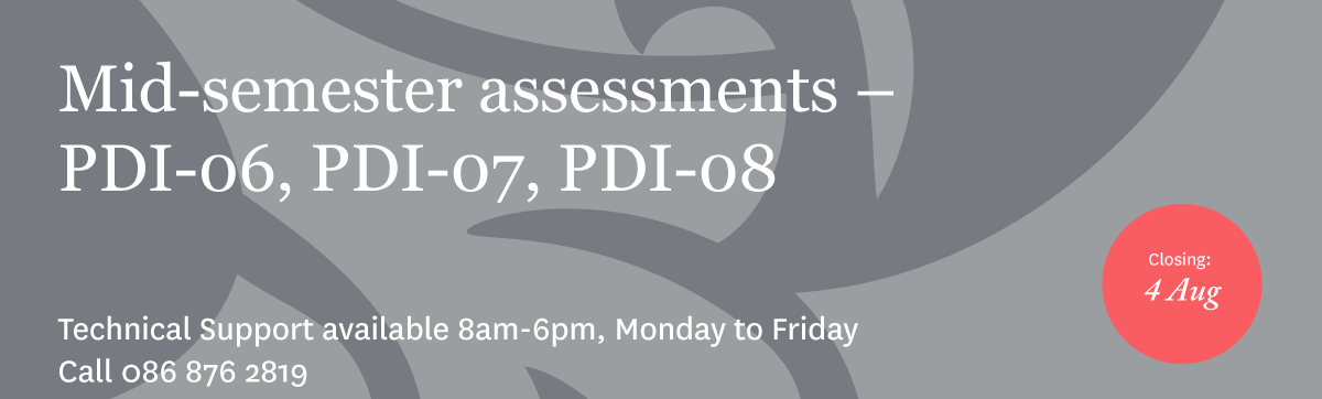 PDI Sept 17 Mid-semester Assessment Guide Download