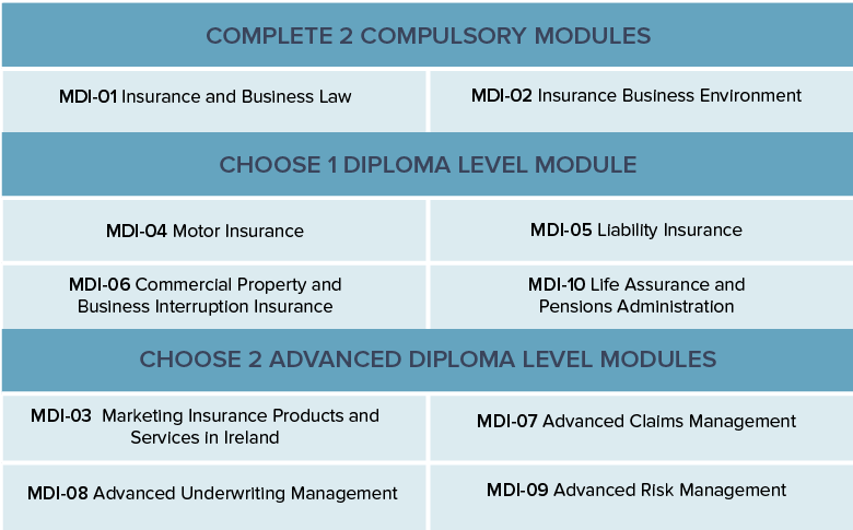 management diploma in insurance mdi the insurance institute completed cii exams